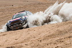 Jakub Przygonski (POL) of Orlen Team X-Raid races during stage 04 of Rally Dakar 2019 from Arequipa to o Tacna, Peru on January 10, 2019 // Marcelo Maragni/Red Bull Content Pool // AP-1Y39E7XVD1W11 // Usage for editorial use only // Please go to www.redbullcontentpool.com for further information. //