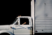 White Truck, New York City, New York, USA, July 1982