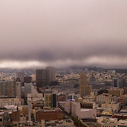 San Francisco as seen from the 39th floor of the Marriott Marquis hotel.