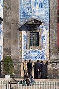 azulejos igreja de santo ildefonso church porto portugal