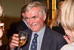 Francis Fulford at a party to celebrate the publication of Resolution by The Duke of Rutland and Emma Ellis held at Trinity House, Tower Hill, London England. 10 April 2017.