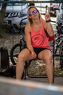 2018 UCI BMX Supercross<br /> Round 7 Santiago Del Estero (Argentina)<br /> Elite Women<br /> Practice<br /> #91 (VANHOOF Elke) BEL