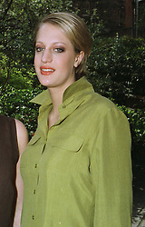 Debutante MISS IMOGEN HOBDAY at a fashion show in London on April 7th 1997.LXK 22 WORO