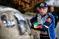 October 28, 2016 - PAYS GALLES - Jari-Matti Latvala (FIN)- Mikka Antilla (FIN) - Volkswagen Polo WRC (Credit Image: © Panoramic via ZUMA Press)