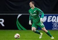 TRONDHEIM, NORWAY - NOVEMBER 02, 2017. UEFA Europa League, round 4: Rosenborg BK (Norway) 1-1 Zenit St Petersburg (Russia). Zenit St Petersburg's goalkeeper Andrei Lunev.