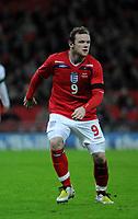 Photo: Tony Oudot/Richard Lane Photography. <br /> England v Switzerland. International Friendly. 06/02/2008. <br /> Wayne Rooney of England