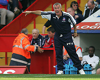 Photo: Lee Earle.<br /> Crystal Palace v Sheffield United. Coca Cola Championship. 22/09/2007. Palace manager Peter Taylor.
