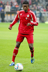 26.10.2011, Allianz Arena, Muenchen, GER, DFB Pokal, 2. Runde, FC Bayern Muenchen vs FC Ingolstadt, im Bild  David Alaba (Bayern #27) // during the Pokal fight second Round from GER FC Bayern Muenchen vs FC Ingolstadt , on 2011/10/26, Allianz Arena, Munich, Germany, EXPA Pictures © 2011, PhotoCredit: EXPA/ nph/  Straubmeier       ****** out of GER / CRO  / BEL ******