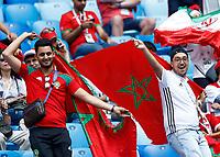 Morocco fans<br /> Saint Petersburg 15-06-2018 Football FIFA World Cup Russia  2018 <br /> Morocco - Iran / Marocco - Iran <br /> Foto Matteo Ciambelli/Insidefoto