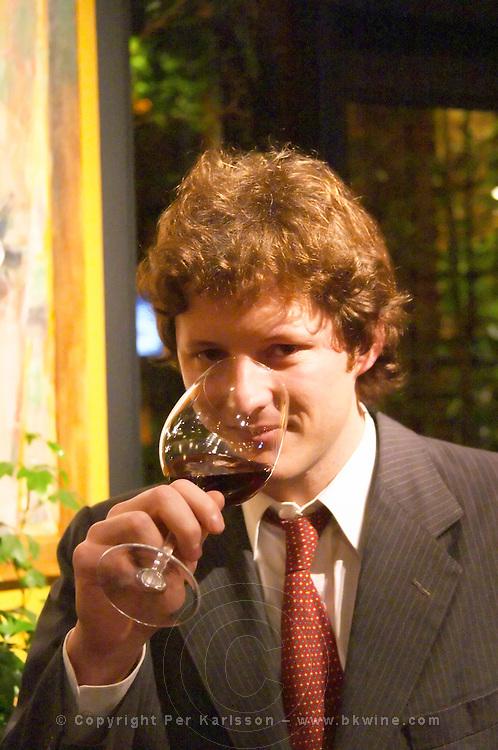 XXX Representative from Rutini, San Felipe La Rural Vinedos y Bodega Winery, Maipu, Mendoza, The Rosa Negra Restaurant, The Black Rose, Buenos Aires Argentina, South America