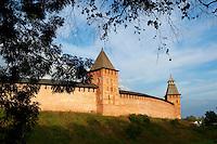 Russie, Novgorod Oblast, Novgorod, le Kremlin, patrimoine mondial de l'Unesco // Russia, Rossiya, Novgorod Oblast, Novgorodskaya Oblast, Veliky Novgorod, Kremlin, Unesco world heritage