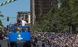 June 15, 2017 - Oakland, California, U.S. - SHAUN LIVINGSTON of the Golden StateWarriors in the NBA Championship Parade on Thursday. (Credit Image: © Paul Kuroda via ZUMA Wire)