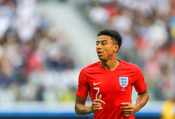 July 14, 2018 - Saint Petersburg, Russia - Jesse Lingard of the England national football team reacts during the 2018 FIFA World Cup Russia 3rd Place Playoff match between Belgium and England at Saint Petersburg Stadium on July 14, 2018 in St. Petersburg, Russia. (Credit Image: © Igor Russak/NurPhoto via ZUMA Press)