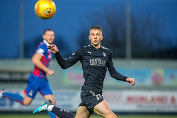Falkirk's Andrew Nelson. Falkirk 3 v 1 Inverness Caledonian Thistle, Scottish Championship game played 27/1/2018 at The Falkirk Stadium.