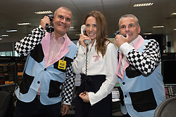 September 11, 2018 - London, London, UK - London, UK.  Mel C at the 14th Annual BGC Charity Day held on the trading floor of BGC Partners in Canary Wharf, to raise money for charitable causes in commemoration of BGC's 658 colleagues and the 61 Eurobrokers employees lost on 9/11. (Credit Image: © Vickie Flores/London News Pictures via ZUMA Wire)