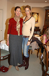 Left to right, DEIRDRE BUTCHER and her daughter LISA BUTCHER at a children's party in aid of the charity Over The Wall held at Fortnum & Mason, Piccadilly, London before a gala premiere of the new musical Mary Poppins at The Prince of Wales Theatre, Old Compton Street, London W1<br />