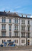 Hotel Warszawski przy ulicy Pawiej w Krakowie, Polska<br /> Warsaw Hotel at Pawia Street in Cracow, Poland