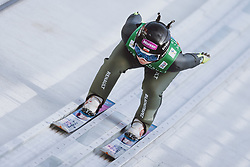 26.02.2021, Oberstdorf, GER, FIS Weltmeisterschaften Ski Nordisch, Oberstdorf 2021, Damen, Skisprung, HS106, Teambewerb, im Bild Kamila Karpiel (POL) // Kamila Karpiel of Poland during women ski Jumping HS106 Team Competition of FIS Nordic Ski World Championships 2021. Oberstdorf, Germany on 2021/02/26. EXPA Pictures © 2021, PhotoCredit: EXPA/ JFK