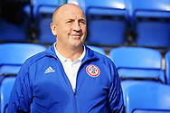 Accrington Stanley Manager John Coleman before the EFL Sky Bet League 1 match between Peterborough United and Accrington Stanley at London Road, Peterborough, England on 20 October 2018.