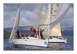 The Brewin Dolphin Scottish Series, Tarbert Loch Fyne...IRL1666 Carmen II  Helensburgh SC First 36.7 Jeffrey/Scutt.