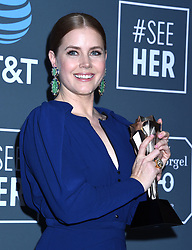 Glenn Close and Lady Gaga at the 24th Annual Critics' Choice Awards Pressroom held at Barker Hanger on January 13, 2019 in Santa Monica, CA. © Tammie Arroyo / AFF-USA.COM. 13 Jan 2019 Pictured: Amy Adams. Photo credit: MEGA TheMegaAgency.com +1 888 505 6342