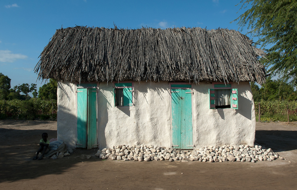 Private dwelling in Souvenance, Haiti. January 23, 2008.