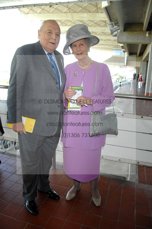 The DUKE & DUCHESS OF RICHMOND & GORDON at the 4th day of the Glorious Goodwood racing festival 2007 held at Goodwood Racecourse, West Sussex on 3rd August 2007.<br /><br />NON EXCLUSIVE - WORLD RIGHTS
