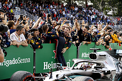 November 17, 2019, Sao Paulo, Brazil: Motorsports: FIA Formula One World Championship 2019, Grand Prix of Brazil, . #33 Max Verstappen (NLD, Aston Martin Red Bull Racing) (Credit Image: © Hoch Zwei via ZUMA Wire)