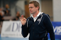 20181103 NED: Eredivisie, Sliedrecht Sport - Abiant Lycurgus: Sliedrecht<br />Arjan Taaij, headcoach of Abiant Lycurgus<br />©2018-FotoHoogendoorn.nl / Pim Waslander