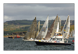 Day 3 of the Bell Lawrie Scottish Series with near perfect conditions on Loch Fyne for all fleets. ..ACV Bandit on the Graham Technology Fleet.