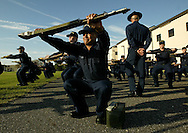 Boot Camp at The United States Coast Guard Training Center Cape May, NJ.