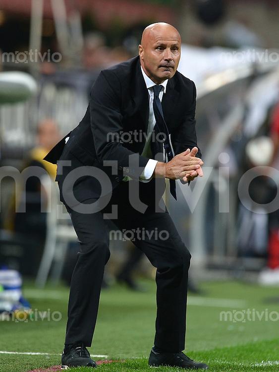 FUSSBALL INTERNATIONAL   SERIE A   SAISON 2012/2013    AC Mailand - Atalanta  15.09.2012 Trainer Stefano Colantuono (Atalanta)