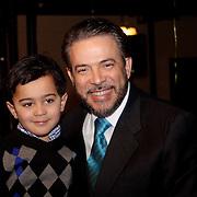 George Iker y Guillermo Moreno, candidato presidencial Alianza Pais