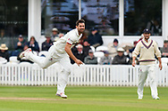 Tim Groenewald of Somerset bowling during the opening day of the Specsavers County Champ Div 1 match between Somerset County Cricket Club and Hampshire County Cricket Club at the Cooper Associates County Ground, Taunton, United Kingdom on 11 May 2018. Picture by Graham Hunt.