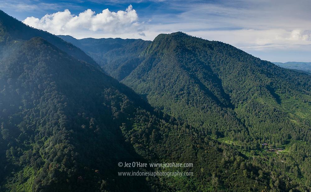 Gunung Puntang dan Malabar, Kabupaten Bandung, Jawa Barat, Indonesia
