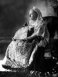 Queen Victoria's Diamond Jubilee photographic portrait.