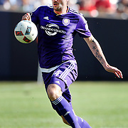 NEW YORK, NEW YORK - May 29:  Luke Boden #14 of Orlando City FC in action during the New York City FC Vs Orlando City, MSL regular season football match at Yankee Stadium, The Bronx, May 29, 2016 in New York City. (Photo by Tim Clayton/Corbis via Getty Images)