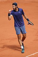 Karen Khachanov of Russia during day 4 of the French Open 2021, Grand Slam tennis tournament on June 2, 2021 at Roland-Garros stadium in Paris, France - Photo Jean Catuffe / ProSportsImages / DPPI
