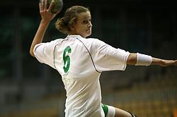 Ana Gros of Olimpija at  handball game between women team RK Olimpija vs ZRK Brezice at 1st round of National Championship, on September 13, 2008, in Arena Tivoli, Ljubljana, Slovenija. Olimpija won 41:17. (Photo by Vid Ponikvar / Sportal Images)
