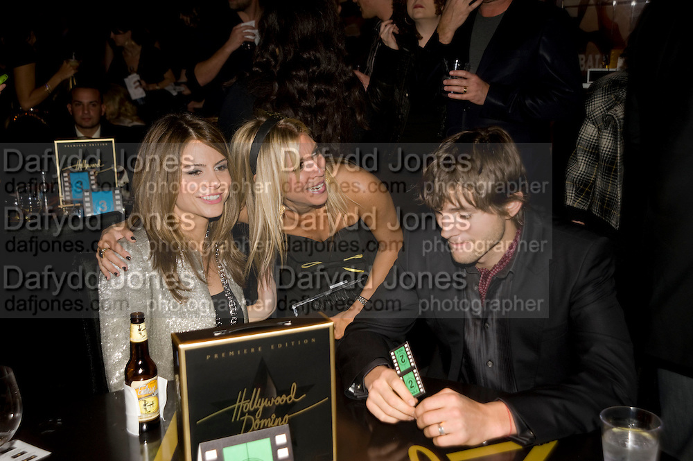 MARINA MANOUNOS; ? ASHTON KUTCHNER, Vanity fair and Bally's 'Hollywood Domino' party to benefit The Art of Elysium at the Andaz Hotel, Sunset Boulevard. West Hollywood. 20 February 2009