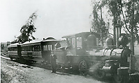 1890 Cahuenga Valley Railroad in Hollywood