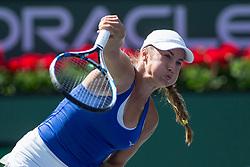 March 09, 2018: Yulia Putintseva (KAZ) defeated by Petra Kvitova (CZE) 6-7 (4), 7-6 (3), 6-4 at the BNP Paribas Open played at the Indian Wells Tennis Garden in Indian Wells, California. ©Mal Taam/TennisClix/CSM/Sipa USA(Credit Image: © Mal Taam/CSM/Sipa USA)