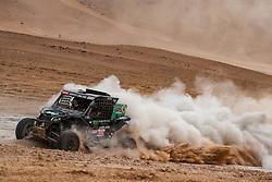 January 10, 2019 - Arequipa, Peru - AREQUIPA, PU - 10.01.2019: DAKAR 20189 - Reinaldo Varela (BRA) during the Dakar Rally 2019, on Wednesday (10), in Arequipa, Peru. (Credit Image: © Vinicius Branca/Fotoarena via ZUMA Press)