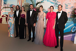 Alexandra of Hanover, Dimitri Rassam, Charlotte Casiraghi, Pierre Casiraghi, Beatrice Casiraghi, Tatiana Casiraghi Andrea Casiraghi attend the Rose Ball 2019 at Sporting in Monaco, Monaco on March 30, 2019. Photo by Jacques Witt-Pool/ABACAPRESS.COM