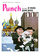Punch cover 30 April - 6 May 1975. If Marx came back