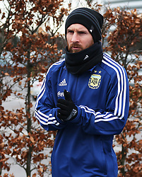 Argentina's Lionel Messi  - Mandatory by-line: Matt McNulty/JMP - 21/03/2018 - FOOTBALL - Argentina - Training session ahead of international against Italy