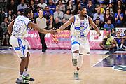 DESCRIZIONE : Campionato 2014/15 Dinamo Banco di Sardegna Sassari - Openjobmetis Varese<br /> GIOCATORE : Jerome Dyson Shane Lawal<br /> CATEGORIA : Ritratto Esultanza Fair Play<br /> SQUADRA : Dinamo Banco di Sardegna Sassari<br /> EVENTO : LegaBasket Serie A Beko 2014/2015<br /> GARA : Dinamo Banco di Sardegna Sassari - Openjobmetis Varese<br /> DATA : 19/04/2015<br /> SPORT : Pallacanestro <br /> AUTORE : Agenzia Ciamillo-Castoria/L.Canu<br /> Predefinita :