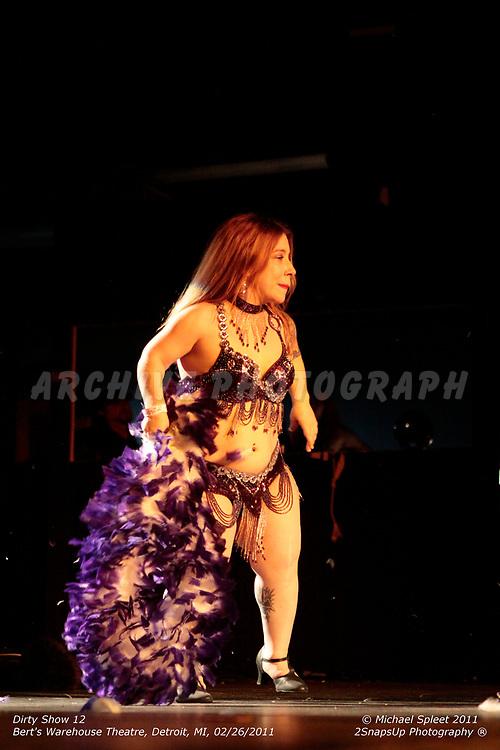 DETROIT, MI, SUNDAY, FEB. 27, 2011: Dirty Show 12, Viva Le Muerte at Bert's Warehouse Theatre, Detroit, MI, 02/27/2011.  (Image Credit: Michael Spleet / 2SnapsUp Photography)