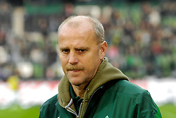 05.11.2011, Weser Stadion, Bremen, GER, 1.FBL, Werder Bremen vs 1.FC Köln, im Bild Thomas Schaaf (Trainer Werder Bremen) // during the match GER, 1.FBL, Werder Bremen vs 1.FC Koeln on 2011/11/05, 12. matchday, Weser Stadion, Bremen, Germany. EXPA Pictures © 2011, PhotoCredit: EXPA/ nph/  Gumz       ****** out of GER / CRO  / BEL ******