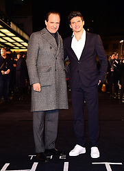 Ralph Fiennes (left) and Oleg Ivenko attending The White Crow UK Premiere held at the Curzon Mayfair, London.